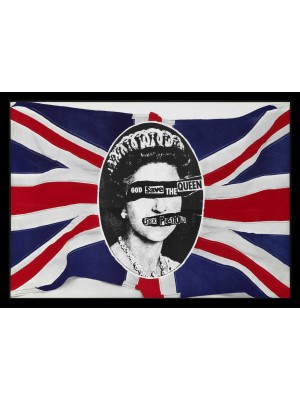 Placa de Rock and Roll  Cod. 150163 Sex Pistols (1)