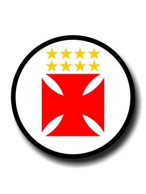 Placa de Futebol  Cod. 220039 diam Vasco