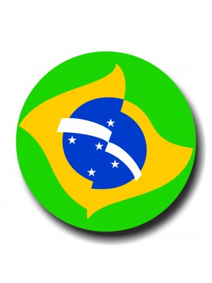 Placa de Futebol  Cod. 220041 diam Brasil