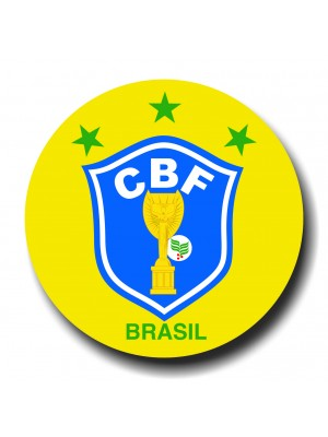 Placa de Futebol  Cod. 220043 diam Brasil