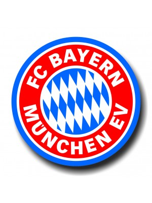 Placa de Futebol  Cod. 220046 diam Bayern