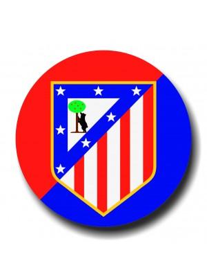Placa de Futebol  Cod. 220047 diam Atletico Madrid
