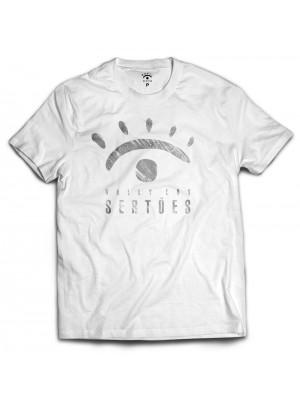 Camiseta branca - Logo Rally dos Sertões Desgastado
