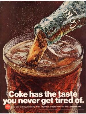Placa Decorativa Vintage da Coca Cola  241519