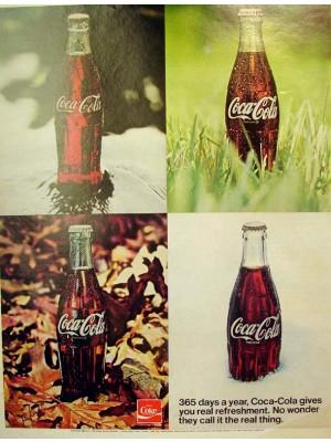 Placa Decorativa Vintage da Coca Cola  241522