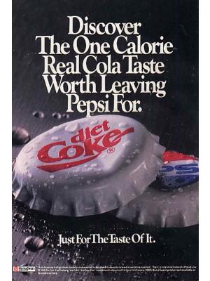 Placa Decorativa Vintage da Coca Cola  241541