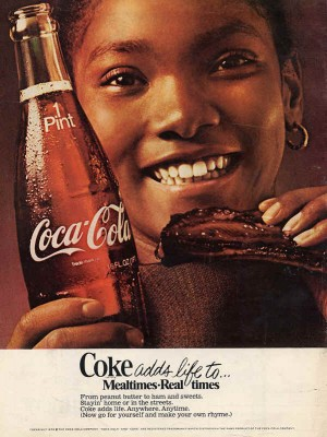 Placa Decorativa Vintage da Coca Cola  241544