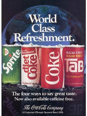 Placa Decorativa Vintage da Coca Cola  241550