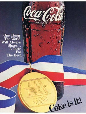 Placa Decorativa Vintage da Coca Cola  241552