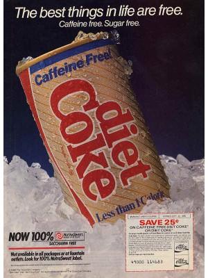 Placa Decorativa Vintage da Coca Cola  241556