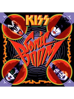 Placa de Rock and Roll  Cod. 150166 Kiss Sonicboom