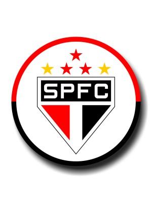Placa de Futebol  Cod. 220034 diam São Paulo