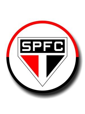 Placa de Futebol  Cod. 220035 diam São Paulo