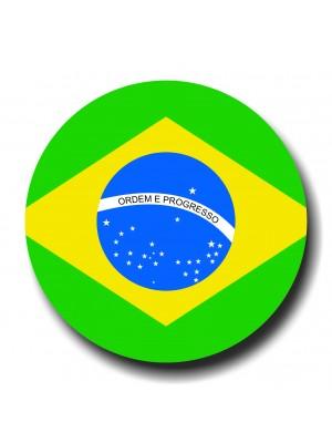 Placa de Futebol  Cod. 220042 diam Brasil