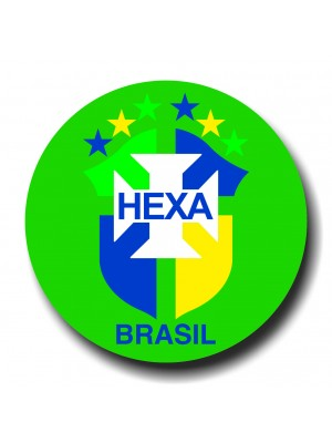 Placa de Futebol  Cod. 220044 diam Brasil
