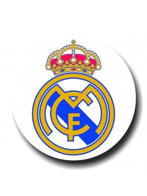 Placa de Futebol  Cod. 220052 diam Real Madrid