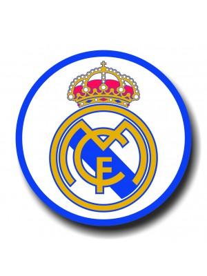 Placa de Futebol  Cod. 220053 diam Real Madrid