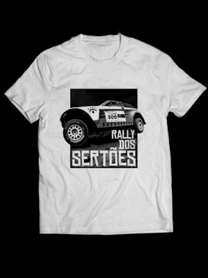 Camiseta branca - Carro 300