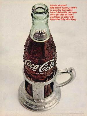 Placa Decorativa Vintage da Coca Cola  241518