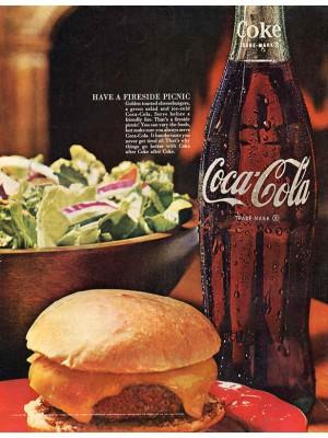 Placa Decorativa Vintage da Coca Cola  241520