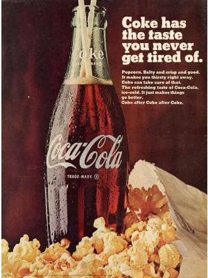 Placa Decorativa Vintage da Coca Cola  241523