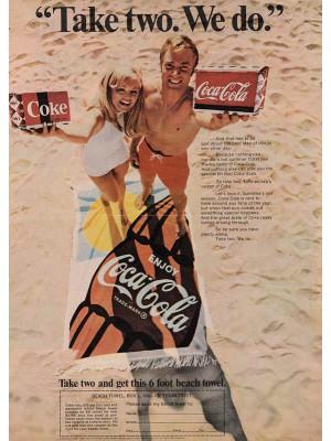 Placa Decorativa Vintage da Coca Cola  241524