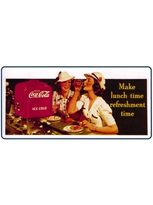 Placa Decorativa Vintage da Coca Cola  241521