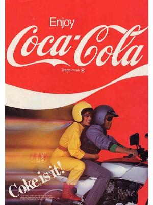 Placa Decorativa Vintage da Coca Cola  241553