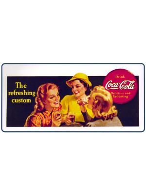 Placa Decorativa Vintage da Coca Cola  241545