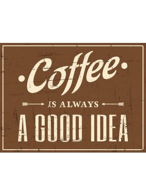 Placa Decorativa Cafe - Cod. I1090084